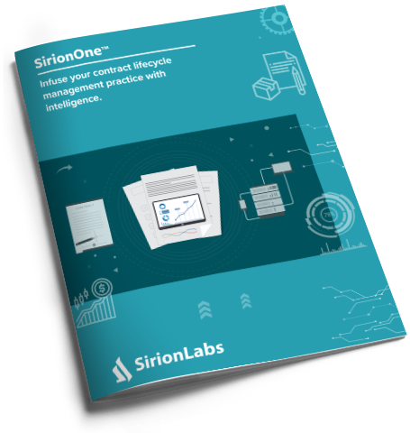 [Product Brochure] SirionOne for CLM