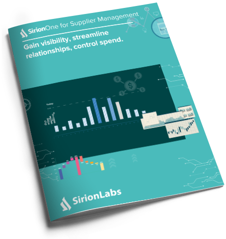 [Product Brochure] SirionOne for Supplier Management