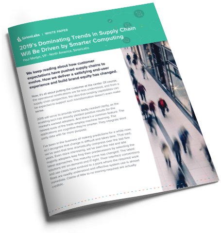 Whitepaper-2019's Dominating Trends in Supply Chain Will Be Driven by Smarter Computing